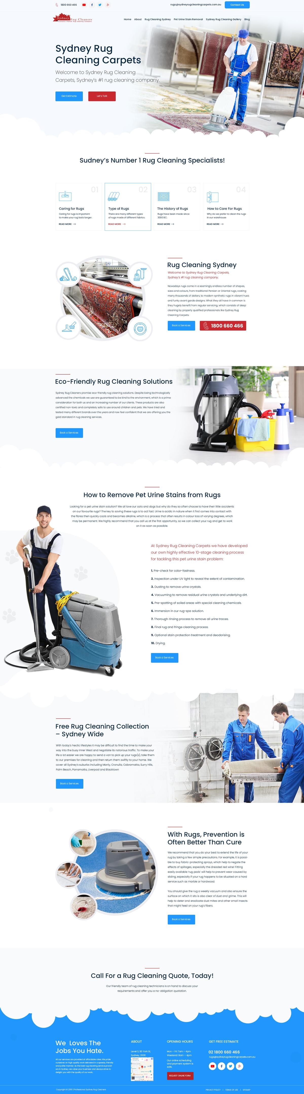 Sydney Rug Cleaning